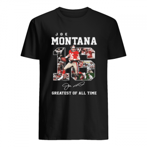 16 joe montana greatest of all time signature  Classic Men's T-shirt