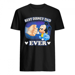 A Beautiful Cooler And Pretty Mickey Mouse Best Disney Dad Ever  Classic Men's T-shirt