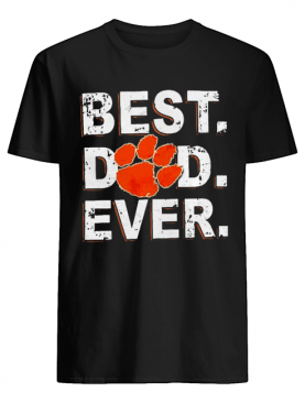 Best Dad Ever Father's Day Clemson shirt