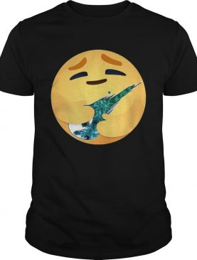 Facebook Care Emoji Hugging Final Fantasy 1997 shirt