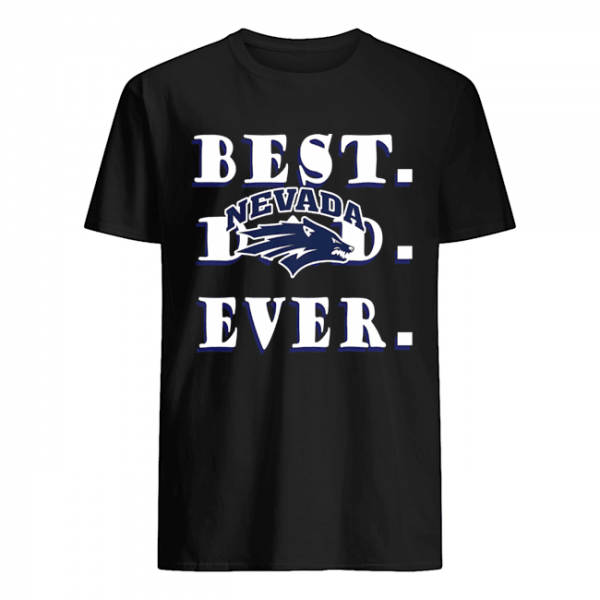 Father's Day Best Dad Nevada Wolf Pack Ever  Classic Men's T-shirt