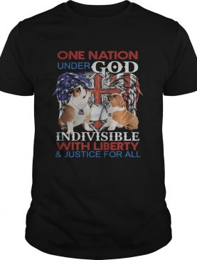 Independence Day bulldog veteran one nation under god indivisible with liberty and justice for all