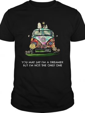 Snoopy You May Say Im A Dreamer But Im Not The Only One shirt
