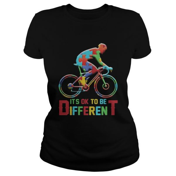 bicycle autism its ok to be different  Classic Ladies