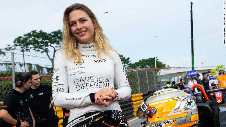 'If I watched the video, I still don't believe it's me flying': Sophia Floersch relives horror crash