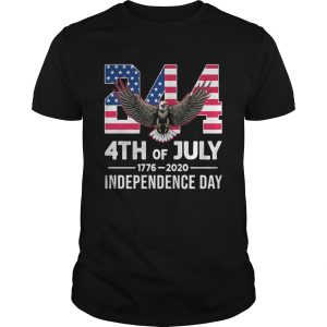 244 4th Of July 1776 2020 Independence Day Bald Eagle  Unisex