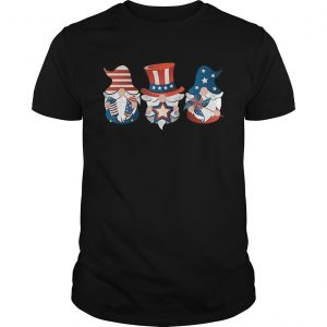 4th Of July American Flag Gnome  Unisex