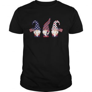 4th Of July Gnome American Flag  Unisex