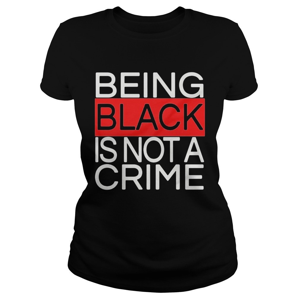 Being black is not a crime royalty Classic Ladies