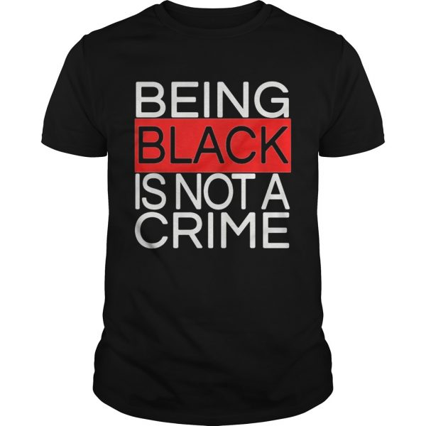 Being black is not a crime royalty  Unisex