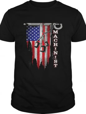 Independence Day flag american machinist shirt