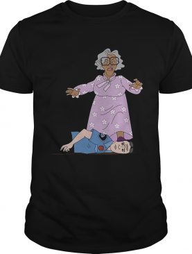 Madea Kneeling On The Neck Police shirt