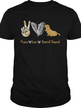 Peace Love Basset Hound shirt