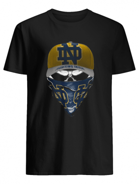 Skull Face Mask Notre Dame Fighting Irish Logo shirt