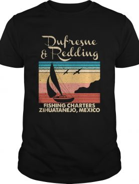 Stephen king dufresne and redding fishing charters zihuatanejo mexico vintage shirt