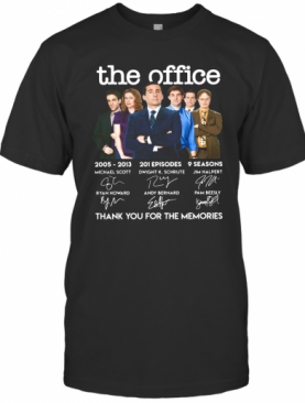 The Office Signature Thank You For The Memories T-Shirt