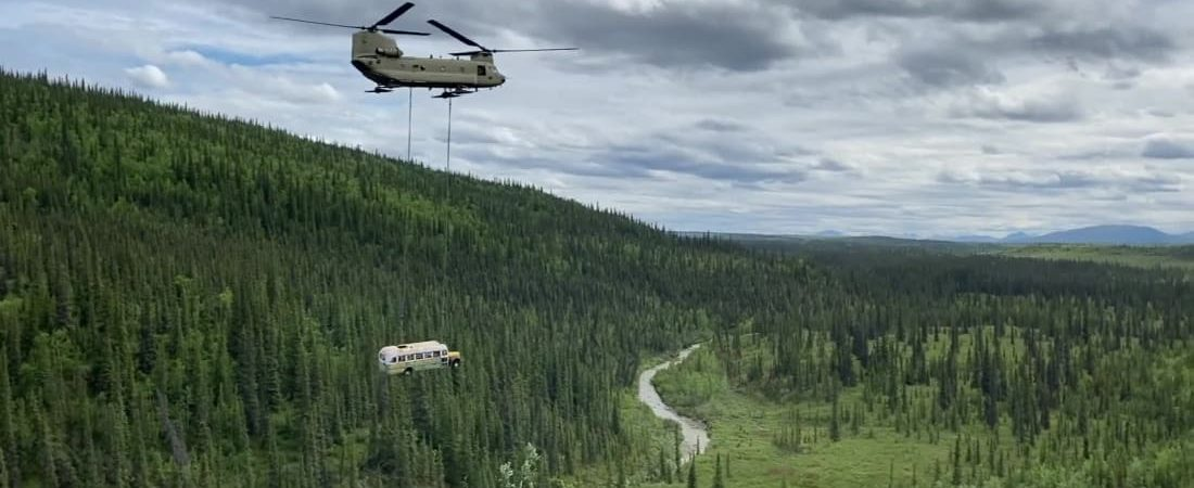 Alaska's 'Into the Wild' bus known as a deadly tourist lure has been removed by air