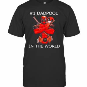 #1 Dadpool In The World T-Shirt Classic Men's T-shirt