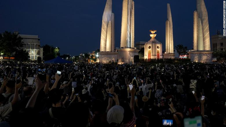 Thailand protest movement puts country's youth on collision course with military-backed establishment