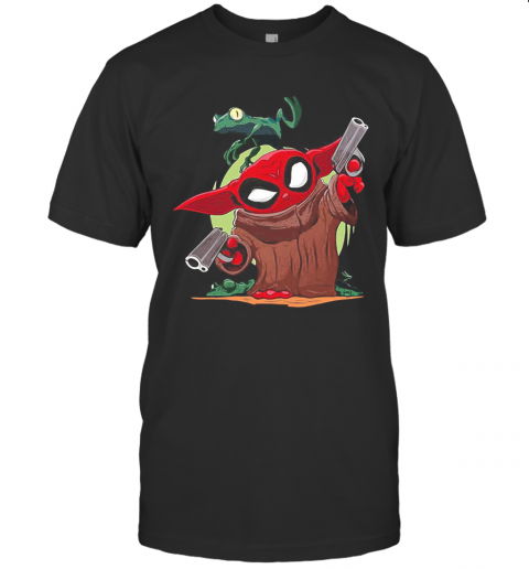 Baby Yoda Spiderman And Frog T-Shirt Classic Men's T-shirt
