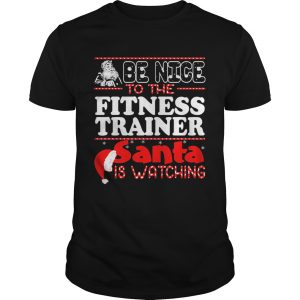 Be Nice To The Fitness Trainer Snta Is Watching Hat  Unisex