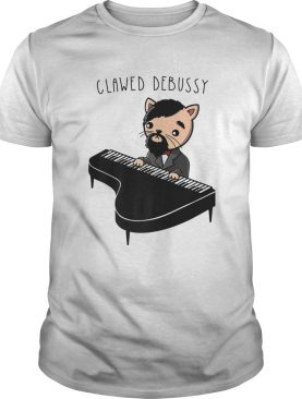 Cat Playing Classical Piano Music Claw shirt