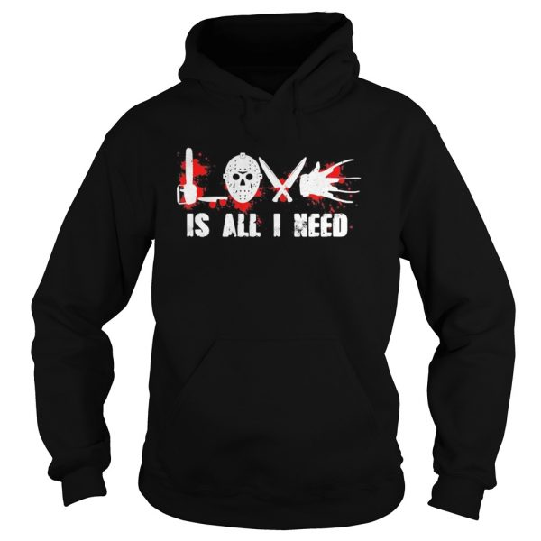 Halloween michael myers love is all i need bloods  Hoodie