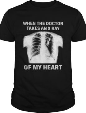 Horse when the doctor takes an x ray of my heart shirt