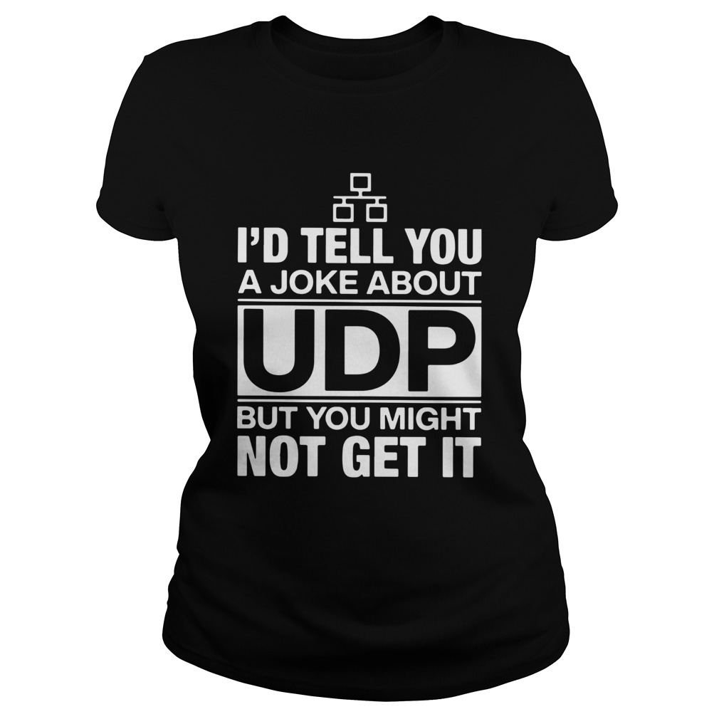Id Tell You A Joke About UDP But You Might Not Get It Classic Ladies