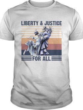 Liberty And Justice For All Vintage Retro shirt