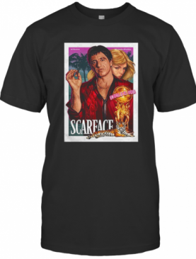 Premium Al Pacino Michelle Pfeiffer World Is Yours Scarface T-Shirt