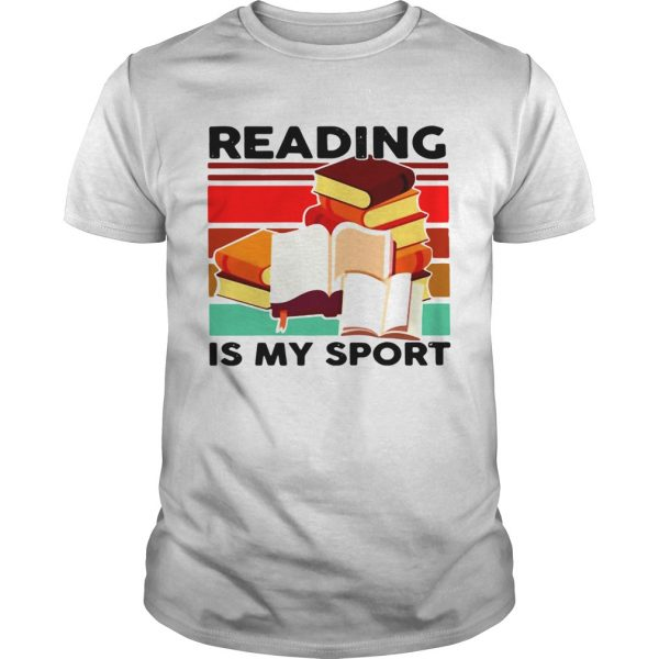 Reading Books Is My Sport Vintage  Unisex