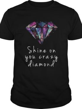 Shine on you crazy diamod colorful shirt