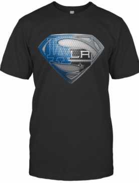 Superman Los Angeles Dodgers And Los Angeles Raiders T-Shirt