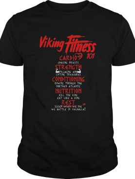 Viking fitness 101 card strength conditioning nutrition rest shirt