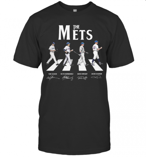 Abbey Road The Mets Signature T-Shirt Classic Men's T-shirt
