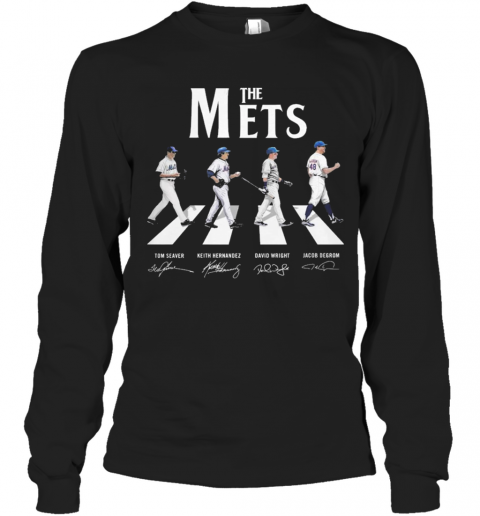 Abbey Road The Mets Signature T-Shirt Long Sleeved T-shirt