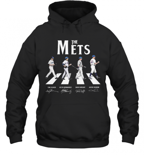 Abbey Road The Mets Signature T-Shirt Unisex Hoodie