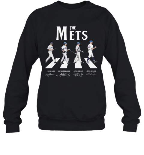Abbey Road The Mets Signature T-Shirt Unisex Sweatshirt