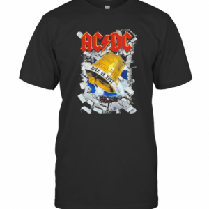 Acdc Band Hells Bell Rock Or Rust Christmas T-Shirt Classic Men's T-shirt