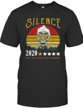 Achmed Silence 2020 Verry Bad Would Not Recommend Vintage T-Shirt