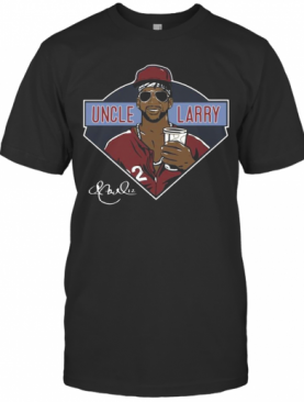 Andrew Mccutchen Uncle Larry Signature T-Shirt