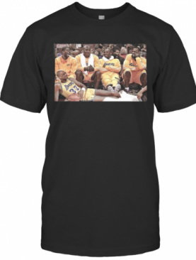 Los Angeles Lakers Basketball Team Picture T-Shirt