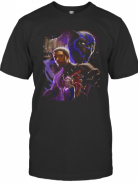 Marvel Heroes Black Panther Rip Chadwick Boseman Actor T-Shirt