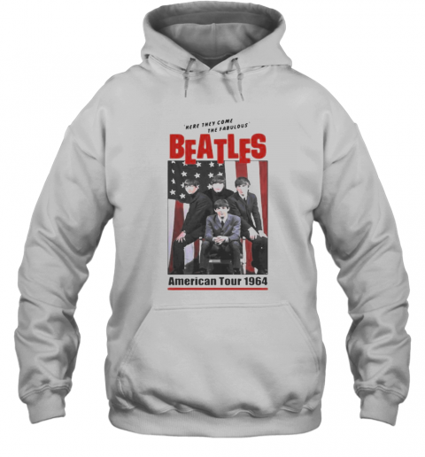 The Beatles Band Here They Come The Fabulous American Tour 1964 T-Shirt Unisex Hoodie