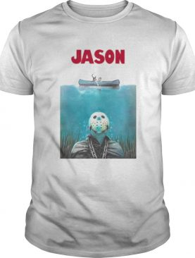 The halloween horror jason rowing shirt