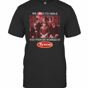 We Used To Smile And Then We Worked At Tyson Horror Character T-Shirt Classic Men's T-shirt