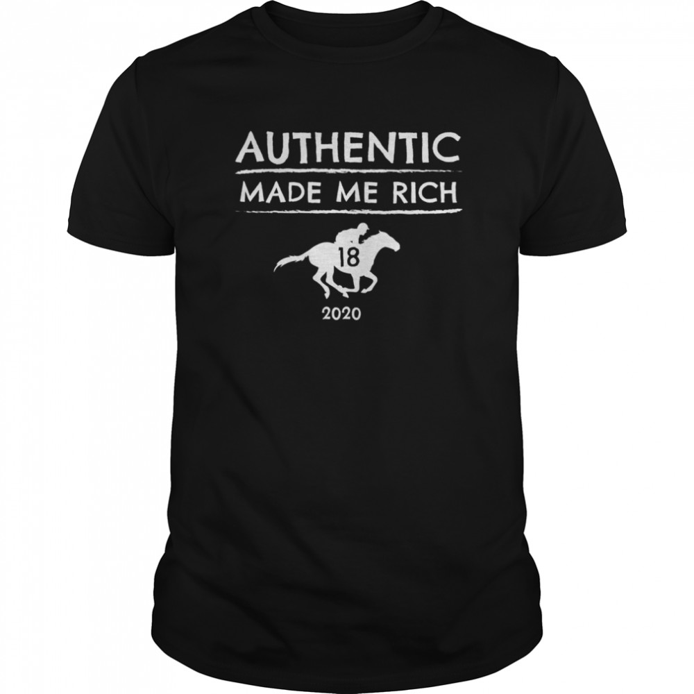2020 Derby Winner Authentic Graphic Horse Racing Phrase Classic Men's T-shirt