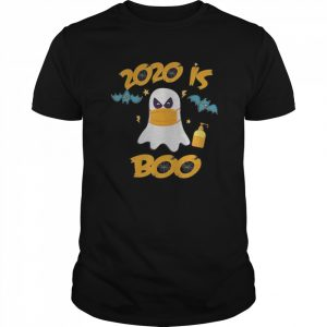 2020 Is Boo Ghost Funny Halloween Scary  Classic Men's T-shirt