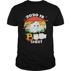 2020 Is Boo Sheet Face Mask Toilet Paper Halloween  Unisex